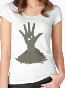 Hand Mines (Doctor Who) Women's Fitted Scoop T-Shirt