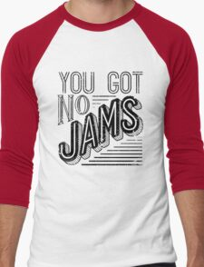 You Got No Jams - BTS Distressed Typography (Black) T-Shirt