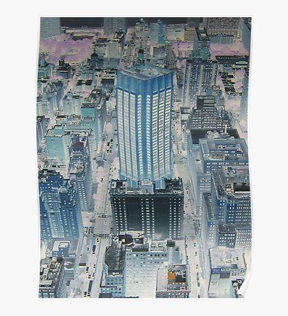 Gotham City Blues Poster