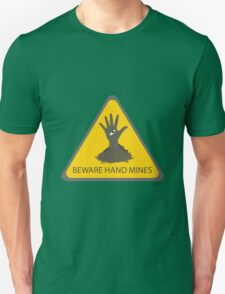 Beware of the Hand Mines (Doctor Who) T-Shirt