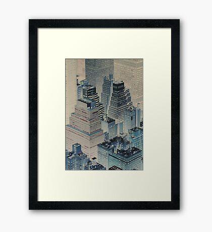 Gotham City Blues 2 Framed Print
