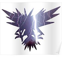 Zapdos used thunder Poster
