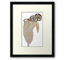 The Scientist Dude Framed Print