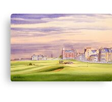 St Andrews Golf Course - 17th Green Canvas Print