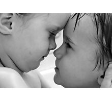 Brother and Sister.... Unbreakable Love Photographic Print