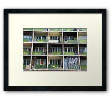 Modular Life Framed Print