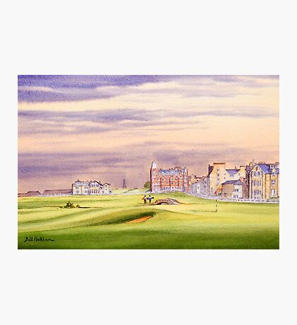 Saint Andrews Golf Course 17Th Green Photographic Print