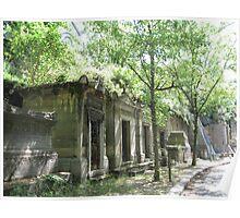 Père Lachaise Cemetery Poster