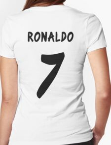 Ronaldo 2013/2014 Womens Fitted T-Shirt