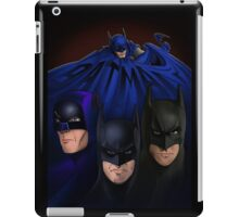 Batman on the Big Screen iPad Case/Skin