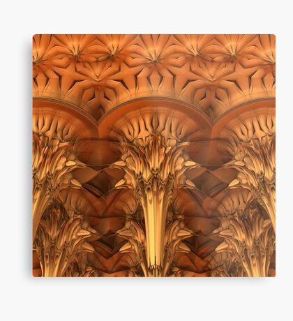 Fractal Architecture Metal Print
