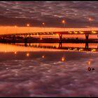 Mandurah Estuary Bridge by Peter Rattigan