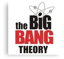 The Big Bang Theory - Logo Canvas Print