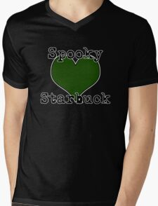 Spooky ♥ Starbuck Mens V-Neck T-Shirt