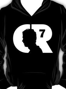 CR7 logo white T-Shirt