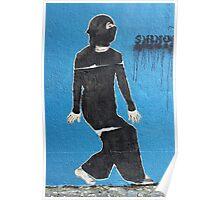 Burka Girl Poster