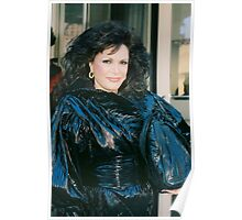 Connie Francis 1985 NYC By Jonathan Green Poster