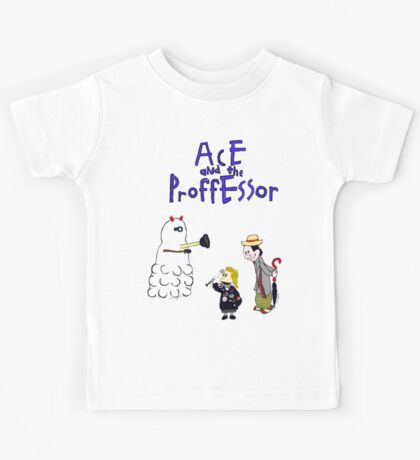 Ace and the Professor Kids Tee