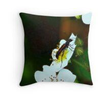 A Fractal Bug Throw Pillow
