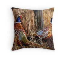 A Brace Throw Pillow