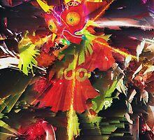 THE LEGEND OF ZELDA - MAJORA'S MASK - SKULL KID - PIXEL SORT - GLITCH EDIT by frictionqt