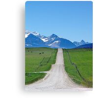 Ranchland Road Canvas Print