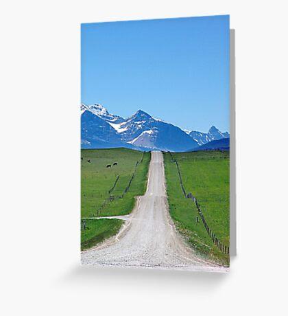 Ranchland Road Greeting Card