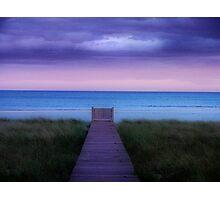 To The Sea Photographic Print