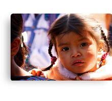 Children of Guatemala Canvas Print