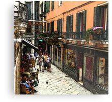Fresco - Venice Life Metal Print