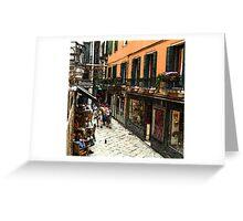 Fresco - Venice Life Greeting Card