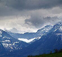 Mountain Wall by Jann Ashworth