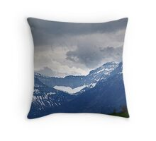 Mountain Wall Throw Pillow