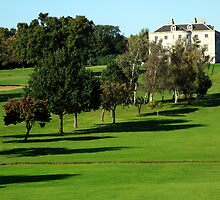 The Mansion from the Golf Course   by John Gaffen