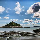 Cornwall - St Michael's Mount by Simon Marsden