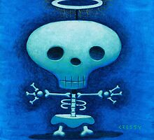 My friend Skully by Mike Cressy