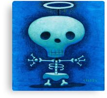 My friend Skully Canvas Print