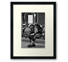 Homeless Mad Max  Framed Print
