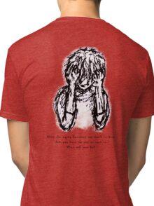 Agony - SilentCries Series Tri-blend T-Shirt