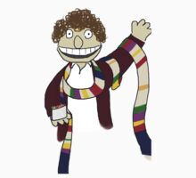 Fourth Doctor Muppet Style One Piece - Short Sleeve