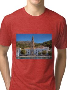 The Monastery on Symi Tri-blend T-Shirt