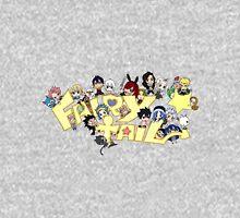 fairy tail erza natsu chibi anime manga shirt Unisex T-Shirt