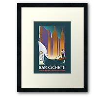 Bar Cichetti - An Italian Restaurant Framed Print