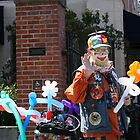 San Francisco Street Clown by Amy Hallowes