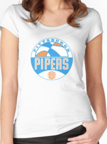 Pittsburgh Pipers Vintage Women's Fitted Scoop T-Shirt