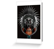 Apocalyptic chief Greeting Card