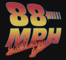 88MPH + Flames Kids Tee