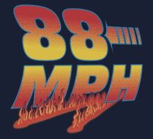 88MPH + Flames by shirtoid