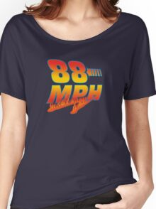 88MPH + Flames Women's Relaxed Fit T-Shirt