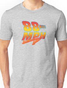 88MPH + Flames Unisex T-Shirt